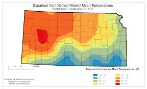 Kansas State University Campus Map by Kansas Office Of The State Climatologist Weekly Maps