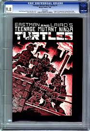 rare comics teenage mutant ninja turtles 1
