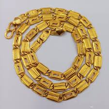 handmade chain necklace images Online cheap 22k gold handmade chain necklace strand fine jewelry jpg