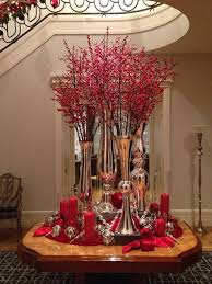 Christmas Berry Table Decoration by