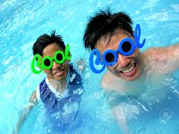 Cool Stock by Photo Of Two Teenage Boys Wearing Sunglasses With The Word Cool