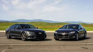 lexus es 350 vs audi a5 shootout 2016 audi s7 vs 2016 tesla model s 90d roadshow