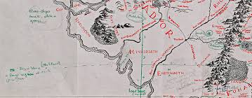 earth map uk bodleian libraries map of middle earth goes on display at
