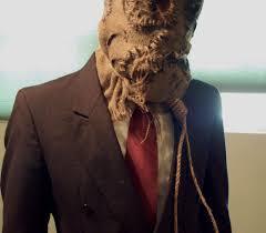 Scarecrow Mask Batman Begins Scarecrow