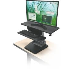 Convert Sitting Desk To Standing Desk by Desktop Sit To Stand Workstation Mooreco Inc Best Rite Balt