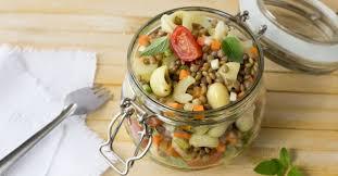 recette d駛euner au bureau 15 idées de recettes de salades à emporter pour manger healthy à la