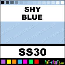 shy blue softees ceramic porcelain paints ss30 shy blue paint