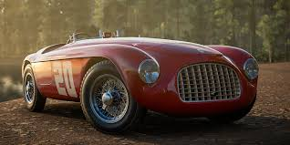 old maserati race car you u0027ll be able to drive this glorious ferrari 166mm in forza horizon 3