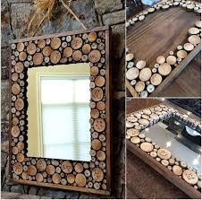 wood crafts mirror frame no more still