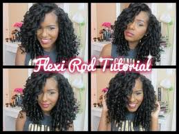 how to salvage flexi rod hairstyles big bouncy flexi rod tutorial on natural hair by kelsey