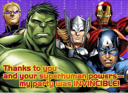 free printable avengers birthday party invitations choice image