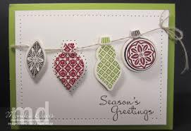 ornament keepsakes card sting together at monika s