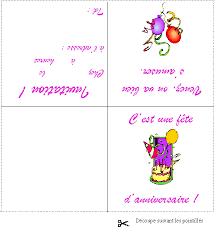 coloriage cartes d u0027anniversaire à colorier allofamille