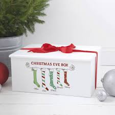 christmas boxes luxury personalised christmas family box by keepsake gifts by