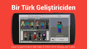 minecraf pe apk türkçe dil minecraft pe android apps on play
