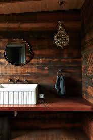 Rustic Interiors 187 Best Rustic Bath Images On Pinterest Room Bathroom Ideas