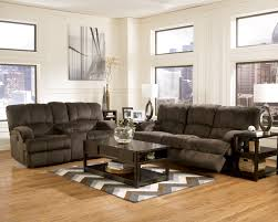 Ashley Reclining Loveseat With Console Furniture Loveseat With Console Double Recliner Loveseat