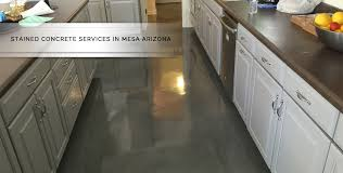mesa stained concrete services barefoot surfaces