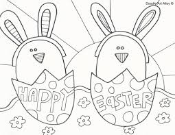 holiday easter egg pictures to colour easter coloring sheets