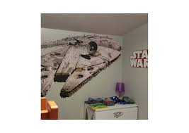 Millennium Home Design Of Tampa Millennium Falcon Wall Decal Shop Fathead For Star Wars Movies