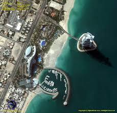 map of middle east burj al arab satellite imaging corp