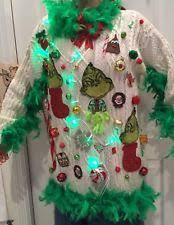 grinch christmas sweater grinch sweater ebay