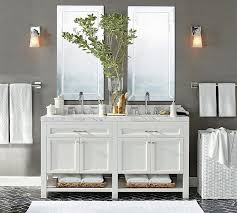 pottery barn bathrooms ideas piedmont sink console pottery barn