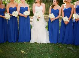 raining blossoms bridesmaid dresses pick up a blue bridesmaid dress