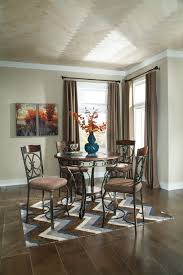 ashley glambrey 5pc counter high dining set dream rooms furniture