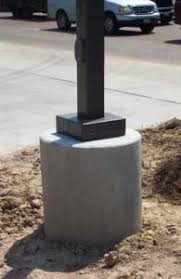 parking lot light pole base detail solar light poles solar lighting international