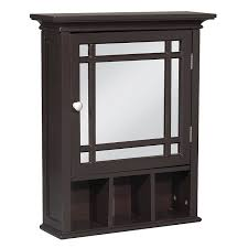 Bathroom Wall Cabinet Mirror by Amazon Com Elegant Home Fashion Neal Medicine Cabinet Kitchen
