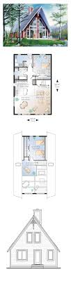 a frame blueprints 49 best a frame house plans images on architecture
