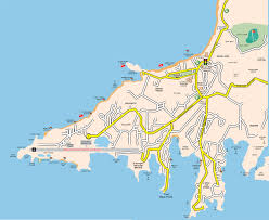 Map Of Caribbean Island by Grand Anse Map Beaches Grand Anse Hotel And Restaurant Map