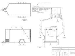 cargo trailer wiring diagram gooddy org