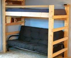 Bunk Bed Without Bottom Bunk Bunk Beds With Futon On Bottom Bunk Bed With Futon Bottom