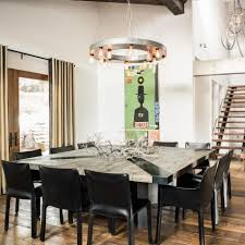 Square Dining Room Table Best 25 Leather Dining Chairs Ideas On Pinterest Dining Chairs