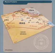 Physical Map Of Southwest Asia by
