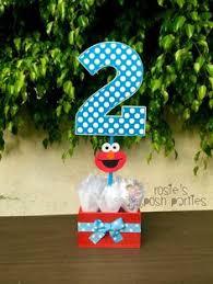 Elmo Centerpieces Ideas by Sesame Street Elmo Birthday Centerpiece Decoration Elmo Cookie