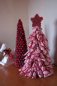 paper cone christmas tree made with wrapping paper christmas