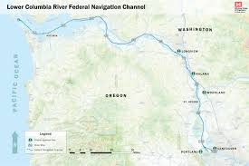 Columbia Campus Map Lower Columbia River Channel Maintenance Plan Port Of Vancouver Usa