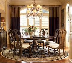 round pedestal dining tables