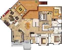 cedar glen i floor plan add garage to kitchen side tweak kitchen