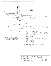 voltage amplifier wiring diagram components