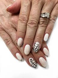 halloween nails nails with spiders and spider webb