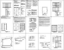 Free Barn Plans Sheds Plans Online Guide Shed Blueprints 8x16