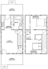 excellent floor plans 16x28 tiny house 16x28h6c 806 sq ft excellent floor plans