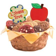 about rosh hashanah rosh hashanah cookie basket cookies by design