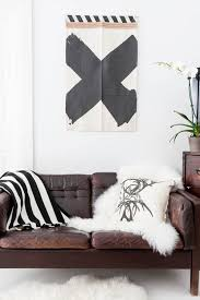 Best Leather Sofa Images On Pinterest Home For The Home And Live - Leather sofa interior design