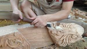 magic woodworking fastest skills wood carving easy amazing