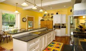 kitchens with yellow cabinets kitchen glamorous kitchen yellow walls dark cabinets impressive